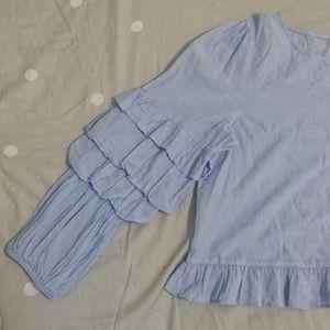 American Eagle Long Sleeved Blouse